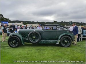 F3-04 1930 Bentley Speed Six Gurney Nutting Coupé