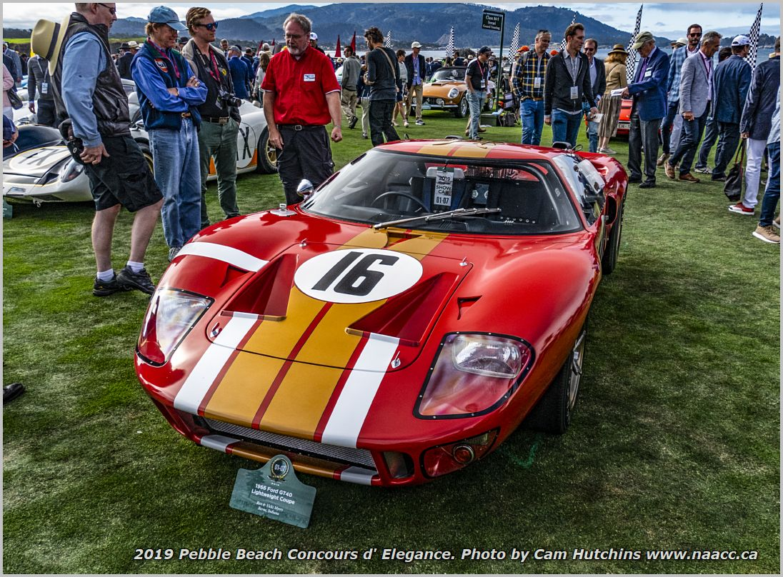 O1-07 1966 Ford GT40 Lightweight Coupe